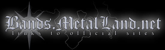 Official Sites of Metal Bands - Main Page